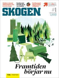 Tidningen SKOGEN 1/2016