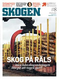 Tidningen SKOGEN 8/2015