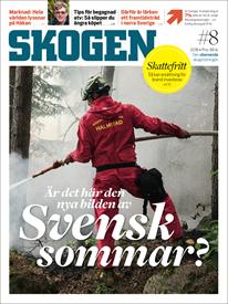 Tidningen SKOGEN 8/2018