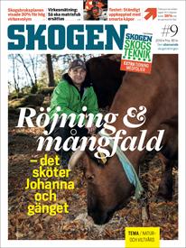 Tidningen SKOGEN 9/2019
