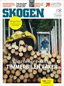 Tidningen SKOGEN 8/2016