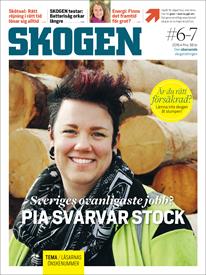 Tidningen SKOGEN 6/2016