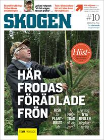 Tidningen SKOGEN 10/2018