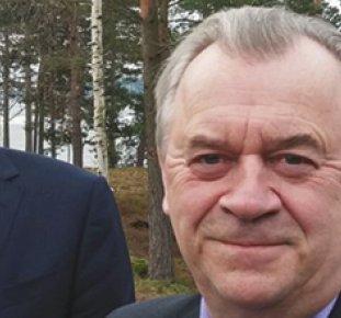 Jari Leppä och Sven-Erik Bucht