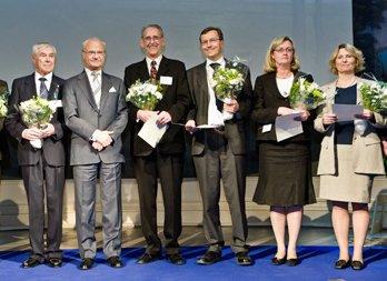 Föreningen Skogens 2008-års Bernadotte- och Guldkvistpristagare