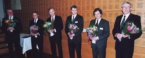 Föreningen Skogen 2001-års Bernadotte- och Guldkvistpristagare.