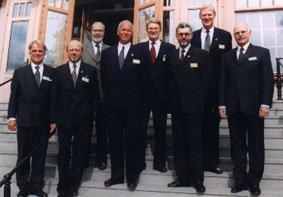 Föreningen Skogen 1999-års Bernadotte- och Guldkvistpristagare.