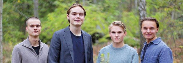 Grundarna av företaget Absorb