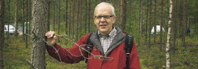 Finska Forstföreningens vd Juhani Karvonen