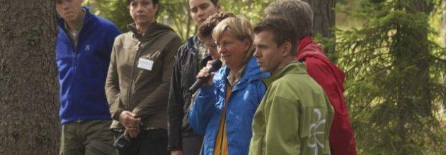 Skogspolitisk partidebatt på Höstexkursionen 2012