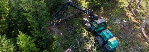 skogsmaskiner, skogsmaskindata