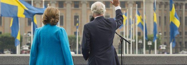 Föreningen Skogen gratulerar sin beskyddare, kung Karl XVI Gustaf.