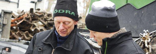 Lars Olof Larsson och Johan Larsson