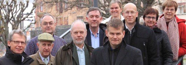 Vem blir det sen? Här är huvuddelen av den nuvarande styrelsen. (Herman Sundqvist sitter inte längre i styrelsen.)